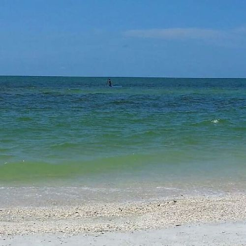 Sea Beach Water Sand Horizon Over Water Outdoors Nature Distant Day Scenics Sky Beauty In Nature Wave Vacations Adult People Florida Nature Gulf Coast Naplesflorida Naples🌊💙