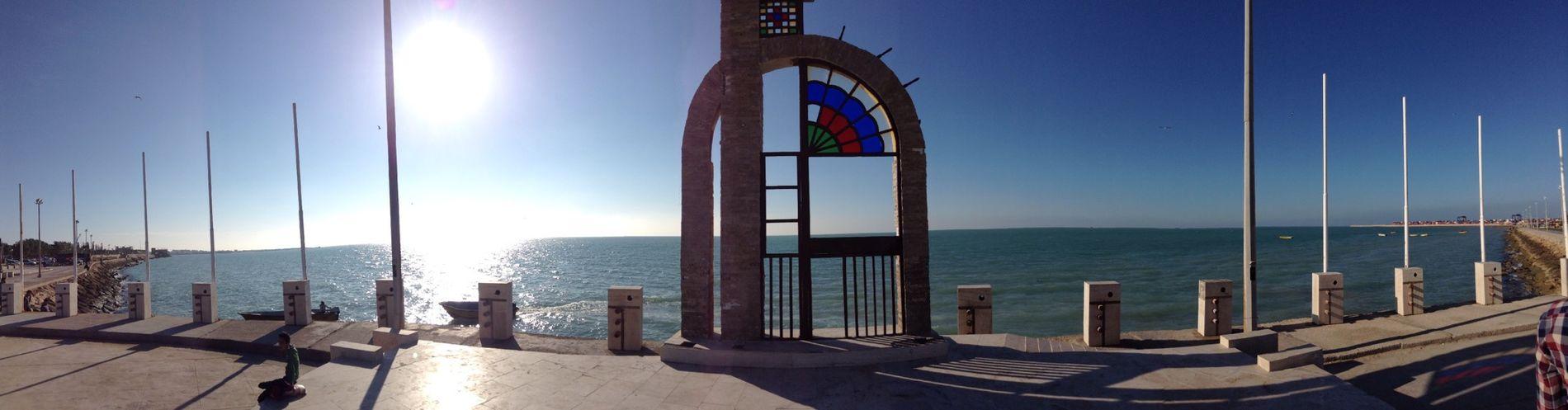 Sea gate Bushehr Iran♥ Sea Landscapes Sun