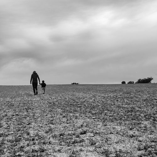 Blackandwhite Two Two People Mother Motherandson  Black And White Black & White Field Nature Nature_collection Nature Photography Naturelovers People People Photography Peoplephotography EyeEm Best Shots EyeEm Nature Lover Eye4photography