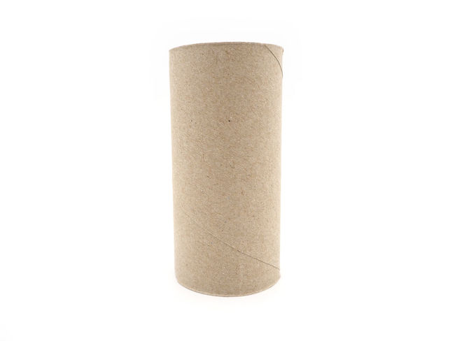 Tissue paper roll core. Empty roll on toilet paper isolated on a white background. White Background Studio Shot Single Object Cut Out Indoors  No People Copy Space Healthcare And Medicine Close-up Simplicity Still Life White Color Paper Rolled Up Education Medicine Office Supply Two Objects Bottle Softness Blank
