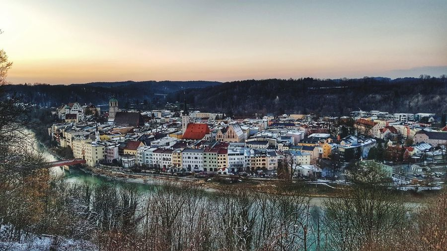 Wasserburg From Above  Scenics Architecture Skyline Germany Bavaria Sky Outdoors No People Nature Tranquility Landscape Day City