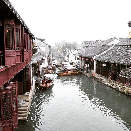 Zhouzhuang Water Town atau dikenali sebagai Venice of Suzhou.... Thisisreef Mylifemypassionmynameisreef Suzhou Zhouzhuang