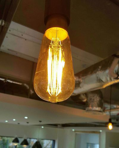 Check This Out Lightbulbs Filaments Filament Light Building Interior Air Conditioning LONDON❤ Construction Site