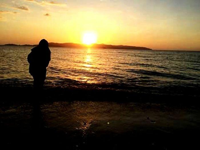 Beach Together sunset