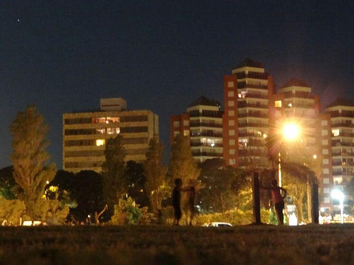 Playing At Night