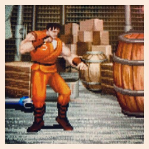 Beat me up Display Fight Final CAPCOM Videogame  90