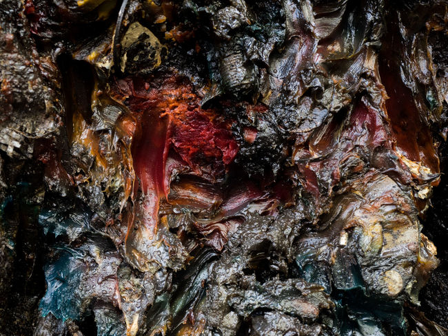 Grease Abstract Backgrounds Bark Close-up Day Full Frame Geology No People Outdoors Pattern Rock - Object Rough Textured  Tree Trunk Greaser