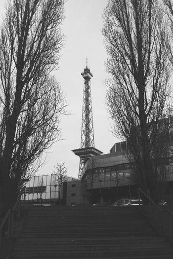 Tvtower in Berlin iBlackandwhite Framed Vscocam