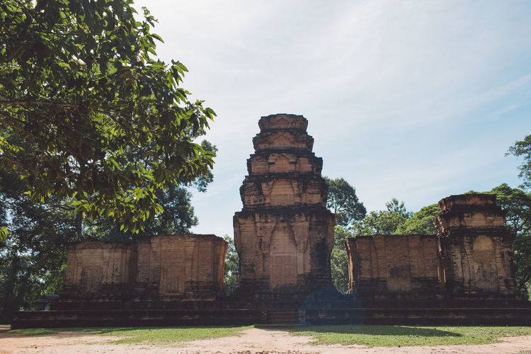 Siem Reap Cambodia Angkor Tree Plant Architecture Sky Built Structure Nature History The Past Old Ancient Building Exterior Day Old Ruin Travel Destinations No People Travel Abandoned Grass Damaged Cloud - Sky Outdoors Ruined Archaeology Deterioration Ancient Civilization