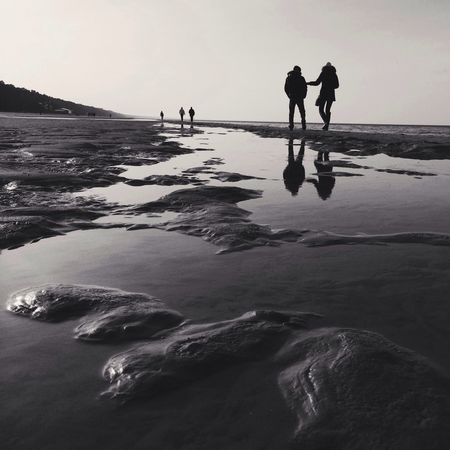 Touch Reflection Bwbeach IPhoneography Beachphotography