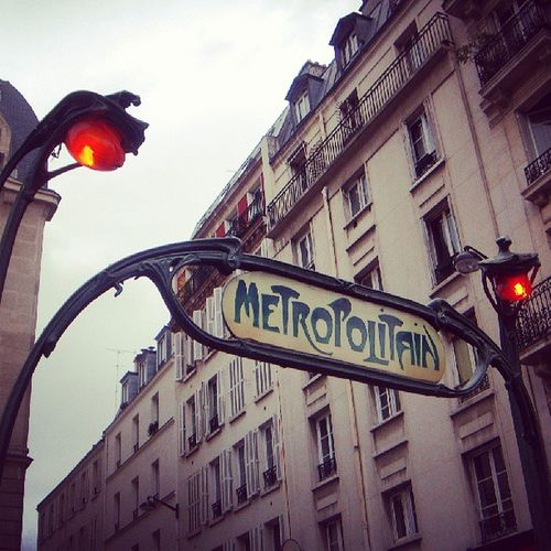 Metro Paris Vintage Photooftheday Bestoftheday Beautiful Old Instadaily Cute Cityoftheworld