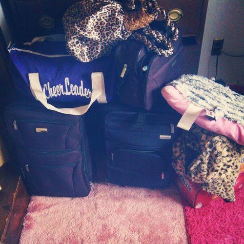 All packed for myrtle Somuchstuff Leavingtonight Excited