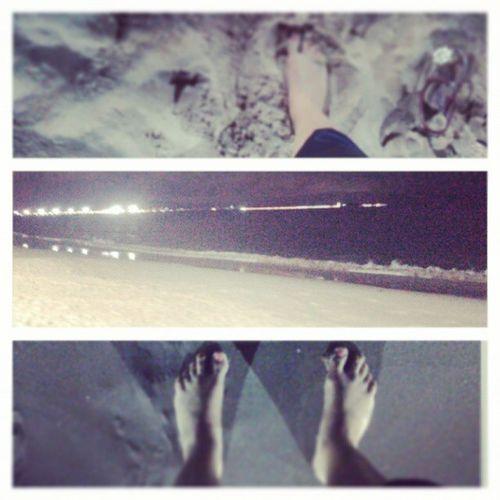 Mar... Inspiração maior, ar puro pé na areia!! NoiteMaravilhosa