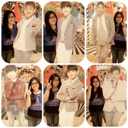 With Super Junior's stand.But missed donghae kangin sungmin T___T i'm not see they stand T.T Me Selca Takeaselcas With superjunior stand nice shoot nature instapict tagsforlove likeme followme .At Lotte Shopping Avenue -Kuningan ,Jakarta