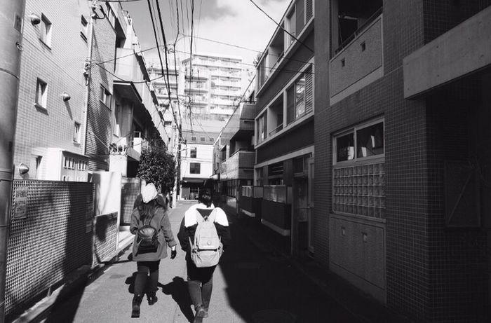 Where's nobita home? Japan Japan Photography Littlestreet Blackandwhite Walk