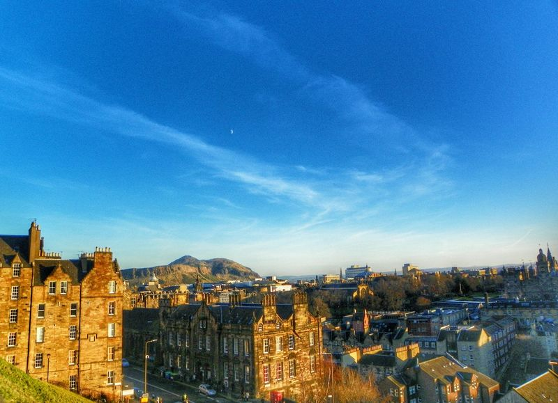 Arthur's Seat City Views Moon