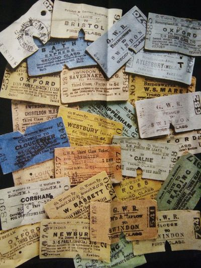 Communication Text Backgrounds Variation Large Group Of Objects Close-up Multi Colored Indoors  Tickets Train Tickets Old History GWR Great Western Railway Antique Colorful Journey England, UK Somerset England Somerset Nastalgia Nastalgic EyeEm Selects