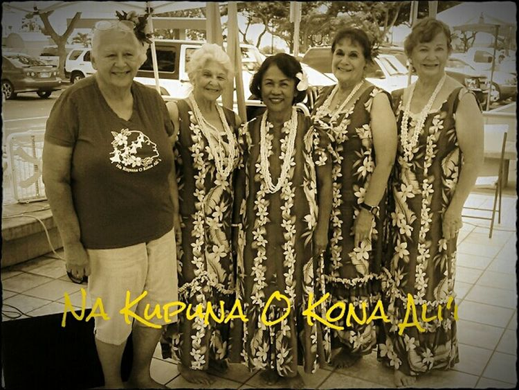 Hula Halau Kupuna Hula Na Kupuna O Kona Ali'i Lovely Ladies Check This Out Big Island Love ♥ Hawaii USA