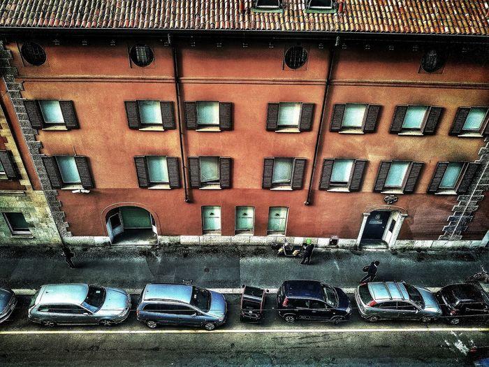 Via Santa Maria Fulcorina, Milano, Ottobre 2018 Building Exterior Hdr_Collection Urban City Street From Above  Architecture Built Structure