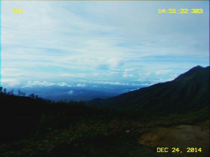 24 December 2014 Location: Indonesia Taking Photos Hikingadventures Mountains And Sky