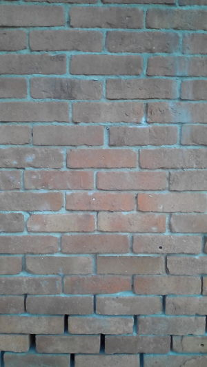 Walking Around Brick Wall Pattern