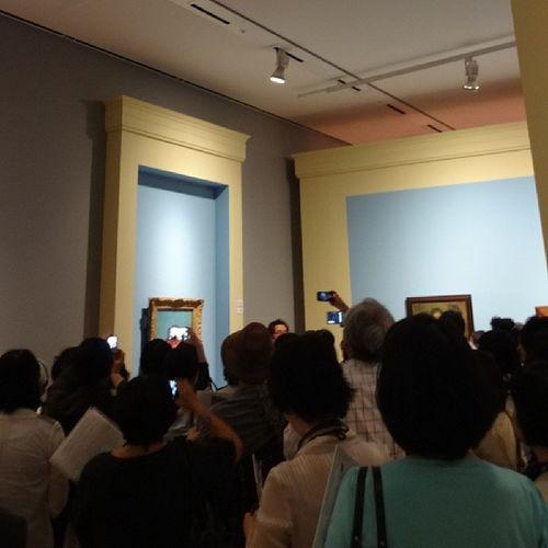 「こども展 名画にみるこどもと画家の絆」のブロガー特別内覧会でギャラリートーク中。個人蔵の作品が多いため、間違って届いてしまったものもあったとか。 こども展