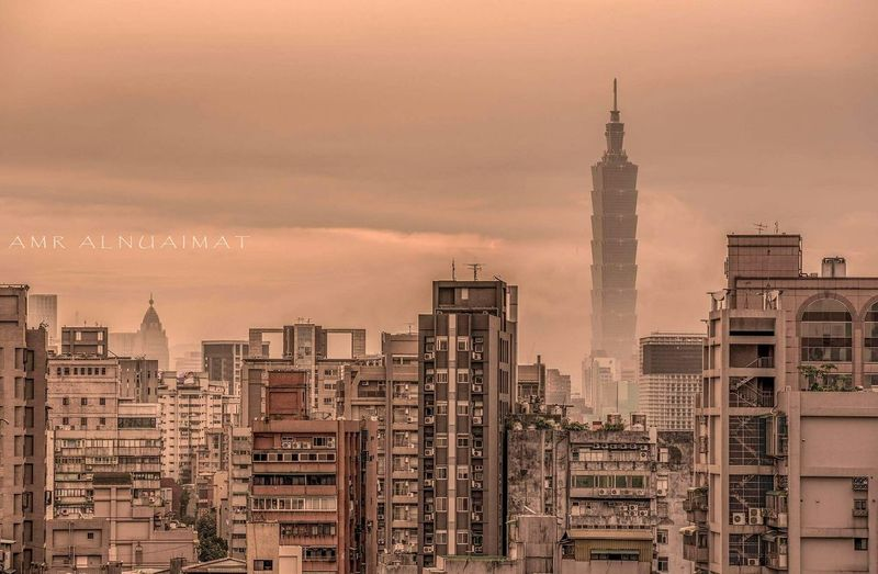 View of Taipei 101 this Morning Taiwan Taipei The View And The Spirit Of Taiwan 台灣景 台灣情 500px City Cityscapes City Life Cityscape