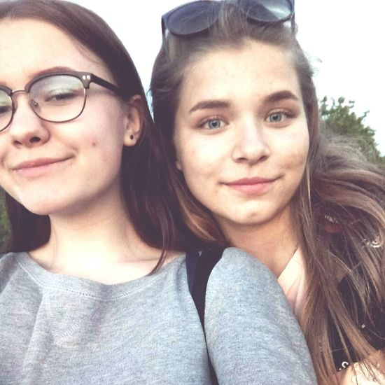 Friendship Selfie Young Women Portrait Togetherness Smiling Looking At Camera Happiness Headshot Photography Themes