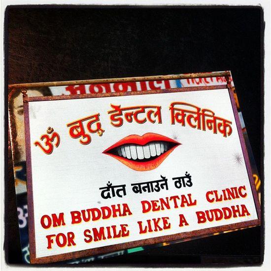 For smile like a Buddha