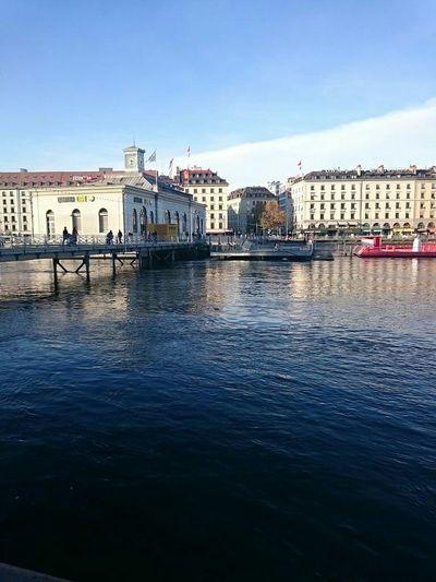 Great Weather <3 Lake Geneva Blue Sky
