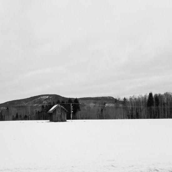 February days and little barns ❤️😘💁 The Kingdom Of Red Barns Vackra Dalarna EyeEm Best Shots Tadaa Community Blackandwhite Fortheloveofblackandwhite Skwadras Little Barn