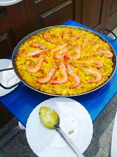 Paellas Paella De Marisco Paella! PaellaValenciana Restaurante Restaurant Comida(: Comidas Comida Casera The Mix Up 43 Golden Moments