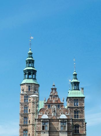Architecture Blue Building Exterior Built Structure Castle City Clear Sky Copenhagen Copenhagen Skyline Copenhagen, Denmark Kopenhagen Low Angle View Outdoors Rosenborg Slot Tower Travel Destinations