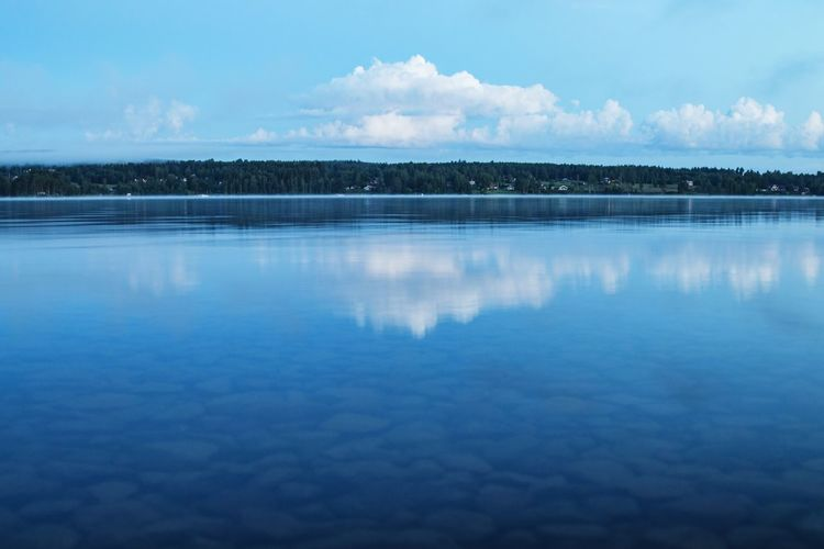 Nightphotography Nordic Light Nordic Nights Night Photography Night Sweden Swedish Summer Swedish Nature Sweden-landscape Landscape Clouds And Sky Reflection Tranquil Scene Water Lake Lake View Lakeshore Siljan