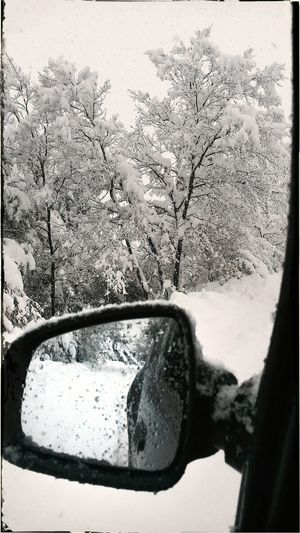 Heavy Snowy Day Snowy Road Snow❄⛄ Snowy Mountains