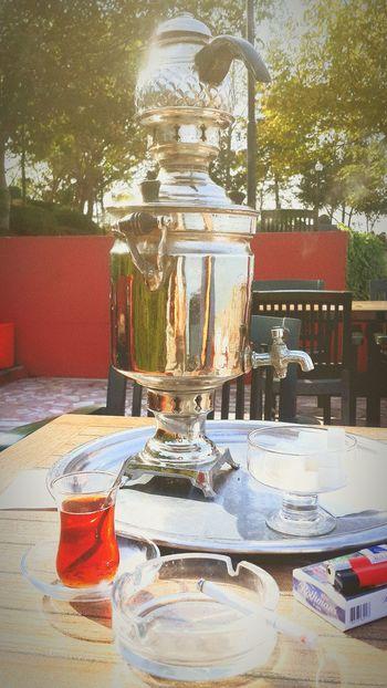 Trabzon Boztepe Semaverkeyfi çay Deniz Yeşillik Turkey