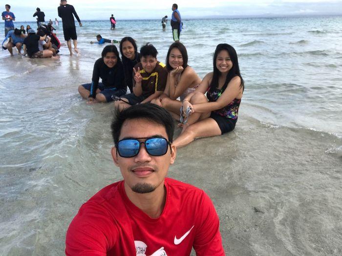 Sandbar Maniwaya Island Marinduque,Philippines