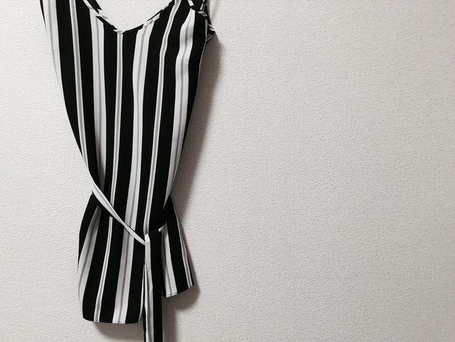 Fashion Ottd Ootd Top Sleeve  Dress Summer Black&white