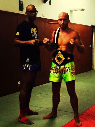 Muay Thai Muay Thai Trainning my student world champion Muay thaï back to Thaïland MuayThai