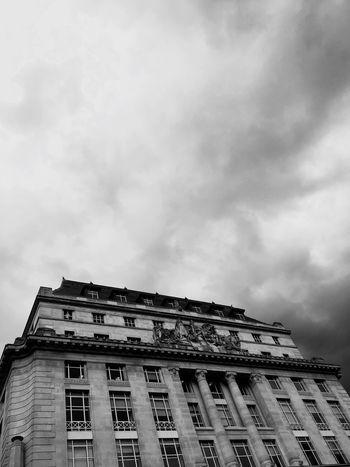 London Minimalism Architecture Blackandwhite Sky Architecture_bw Monochrome Drama Check This Out