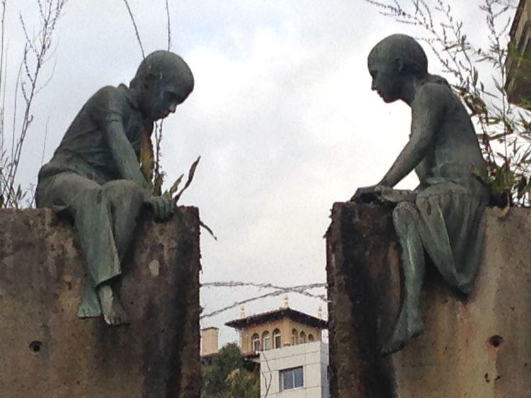 """""""La manera de aproximarnos dice mucho de nosotros"""" Fuente❤Agua Estatua"""