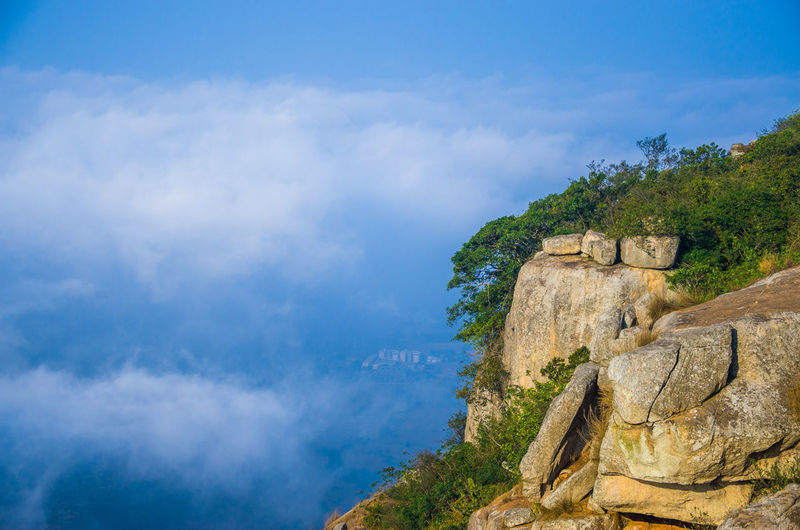 Clouds And Sky Brahmagiri Trekking Morning Bangalore Bangalore Trekking Weekend Activities