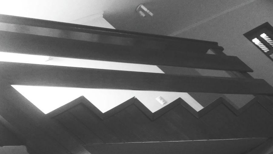Escadão Depressed Architecture Black And White