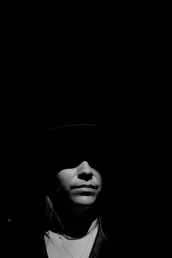 Untitled Capture Tomorrow Young Women Black Background Witch Women Human Face Halloween Headshot Portrait Close-up