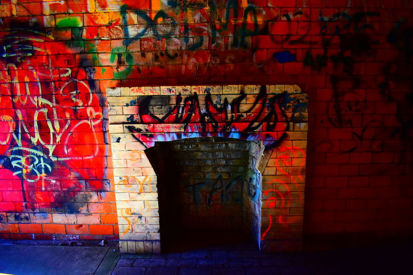 Bunker Decay Flares Forgotten Hull Urban Exploration Abandoned Abandoned Buildings Architecture Battery Brick Brick Wall Built Structure Curiosity Defaced Fire Fireplace Graffiti Massachusetts Multi Colored Mural Spray Paint Text Wall War The Architect - 2018 EyeEm Awards The Creative - 2018 EyeEm Awards