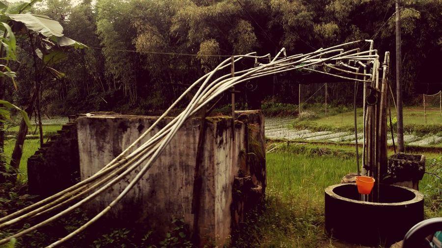 Sumber Kehidupan Sumur Sumberair Lestari Waterpump Village