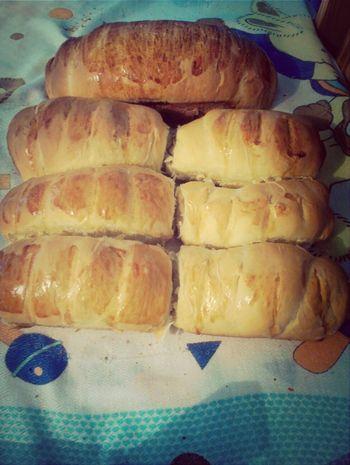 Pães de leite prontinhos e quentinhos.