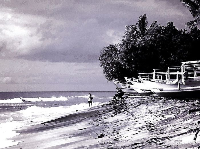 Black & White Black And White Black And White Photography EyeEm Gallery IPhone Photography Beach Photography Travel Photography Lonelyness Popular Monochrome _ Collection Catamaran 🚤🚀 Lombok Island Walk Along The Beach From My Point Of View Nature People EyeEm Best Shots Talking Pictures The KIOMI Collection