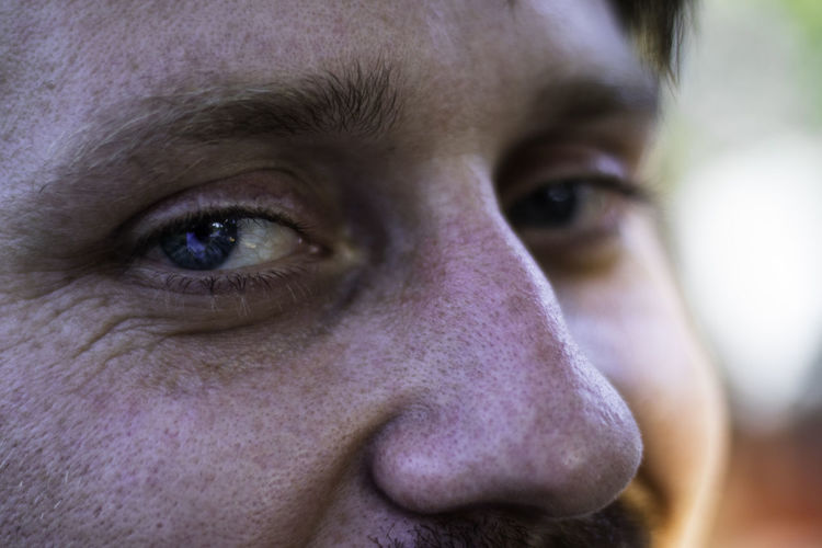 Close up portrait of the eye. Adult Aggression  Body Part Close-up Contemplation Emotion Eye Eyebrow Focus On Foreground Headshot Human Body Part Human Eye Human Face Looking At Camera Men Mid Adult One Person Portrait Serious Young Adult