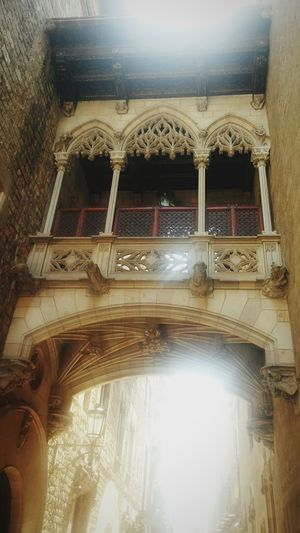Architecture Built Structure Arch Travel Destinations No People Building Exterior Architectural Column Low Angle View Sky City Outdoors Day Barcelona, Cathedral,Church,Spain,Spanish,Gothic,Travel, Architecture,Explore,Europe,Art